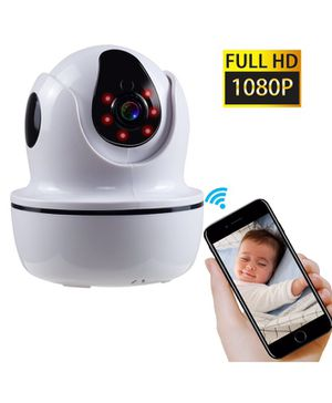NexGadget Wireless IP Security Camera with Two-Way Audio, Night Vision, Pan/Tilt, Baby/Home/Pet Remote Monitor with 1080P, Motion Detection(US Editio for Sale in New York, NY