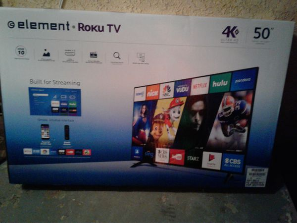 Element 50 inch Roku Smart TV for Sale in San Bernardino, CA - OfferUp