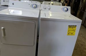 Photo GE Washer & Dryer Set