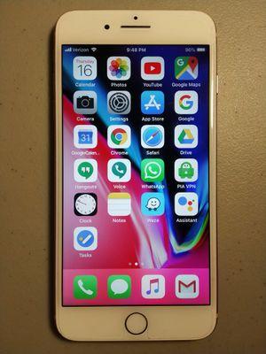 iPhone 8 Plus 256 GB, Rose Gold, Verizon (Factory Unlocked) for Sale in Fairfax, VA