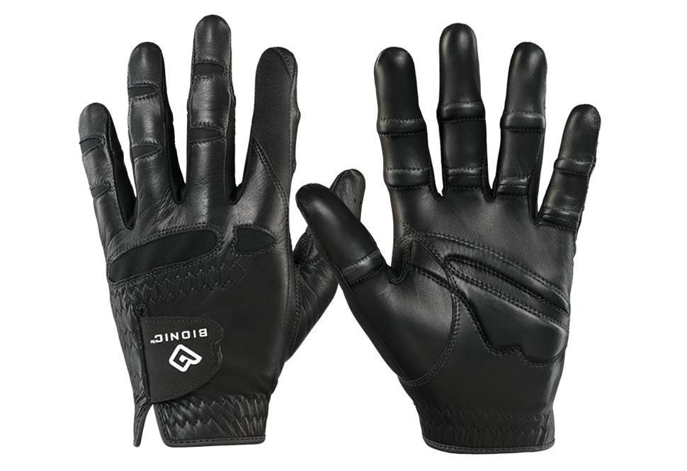 Bionic Stable Grip Golf Glove Natural Fit (Men's Black, Left, MEDIUM) NEW