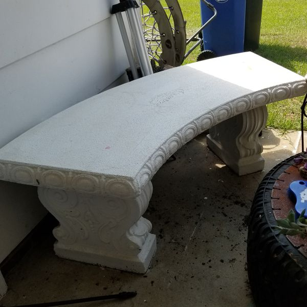 Amazing Painted Concrete Bench For Sale In Fayetteville Nc Offerup Evergreenethics Interior Chair Design Evergreenethicsorg