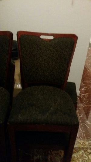 Nice Cushion Restaurant Chairs $20 each for Sale in Philadelphia, PA