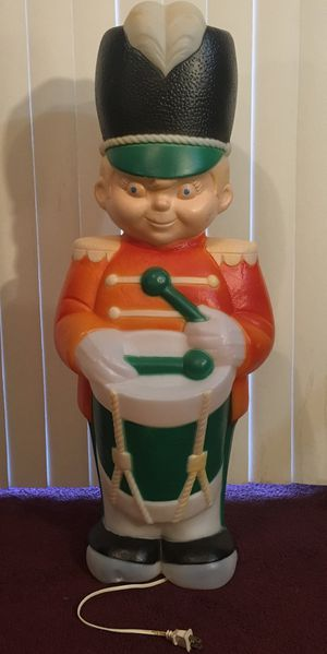 """34"""" tall lighted drummer solider blow mold for Sale in Orlando, FL"""