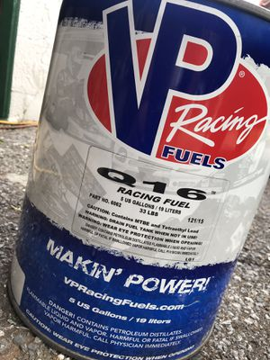 VP Racing Fuel Q16 for Sale in Hyattsville, MD