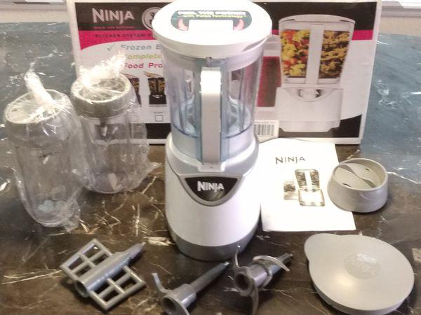 Ninja Kitchen System Pulse Refurbished Frozen Blender Complete Juicing Food  Processing for Sale in Corinth, TX - OfferUp