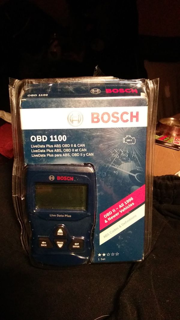 bosch scan tool part # obd1100