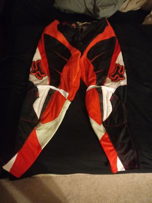 motorcross fox Racing pants size 36 for Sale in Kissimmee, FL