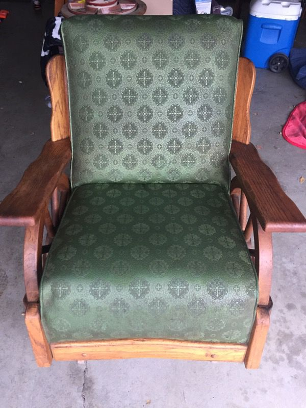 Vintage 1950 S Western Style Wagon Wheel Rocking Chair For In Danville Ca Offerup