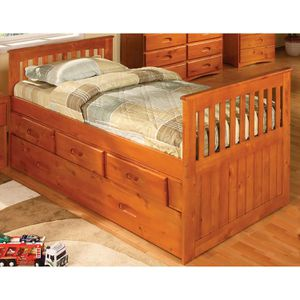 Twin size bed with trundle and 3 drawers for Sale in Centreville, VA