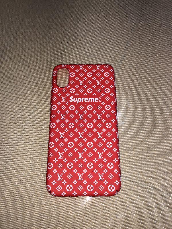 665246bd4a16 Imágenes de Iphone X Case Supreme Louis Vuitton
