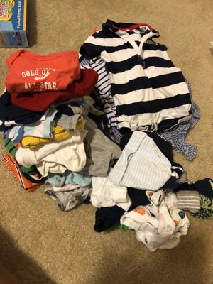 Baby 0-3 months Clothes, Hats, Socks, T-shirt's for Sale in Columbia, MD