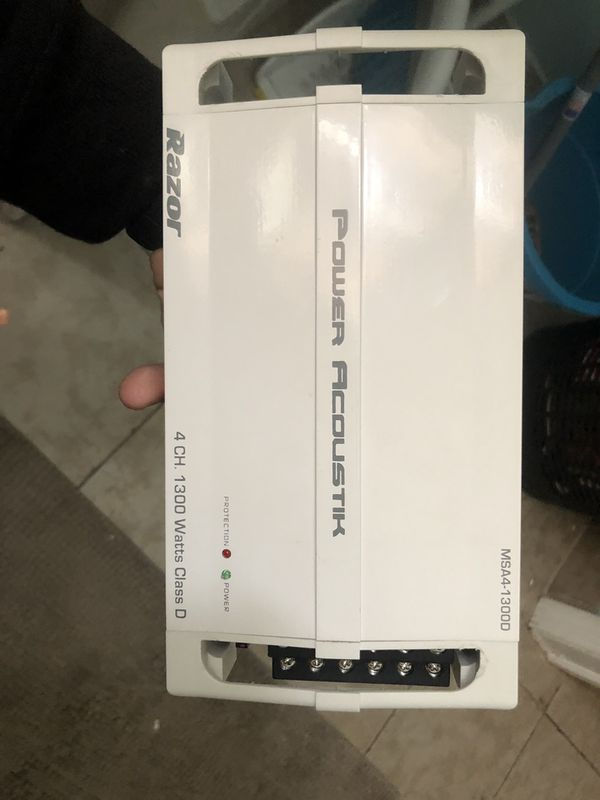 Amp 1300 watts brand new never bin used just missing the box to prove is  new ! for Sale in Bear Creek Village, PA - OfferUp