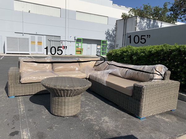 Patio Furniture On Sale All Weather Wicker Brand New