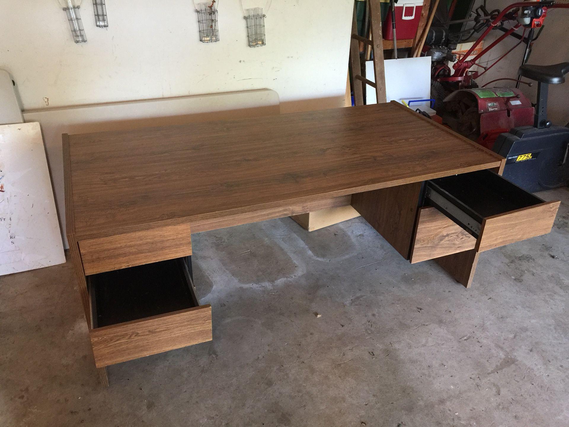 Large office desk - dual work station