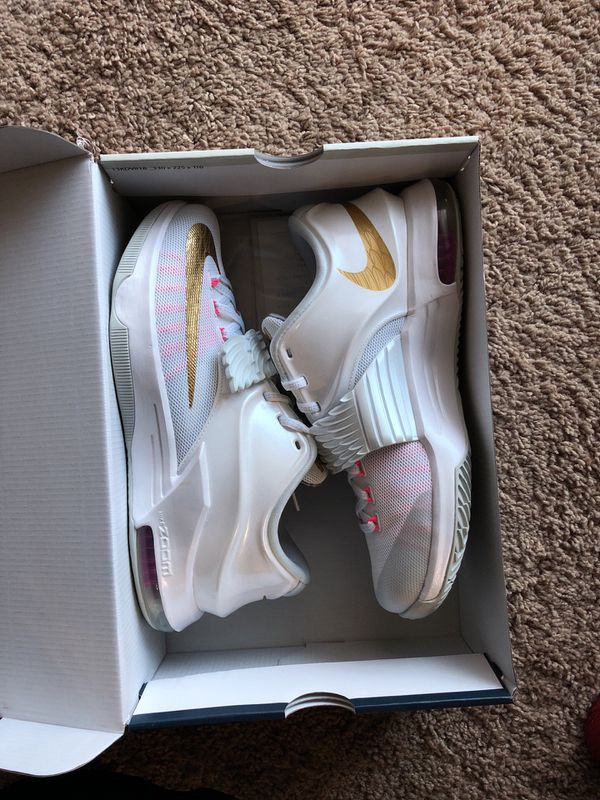 quality design 20384 08850 Nike KD 7 aunt pearl size 8.5 vnds - No trades