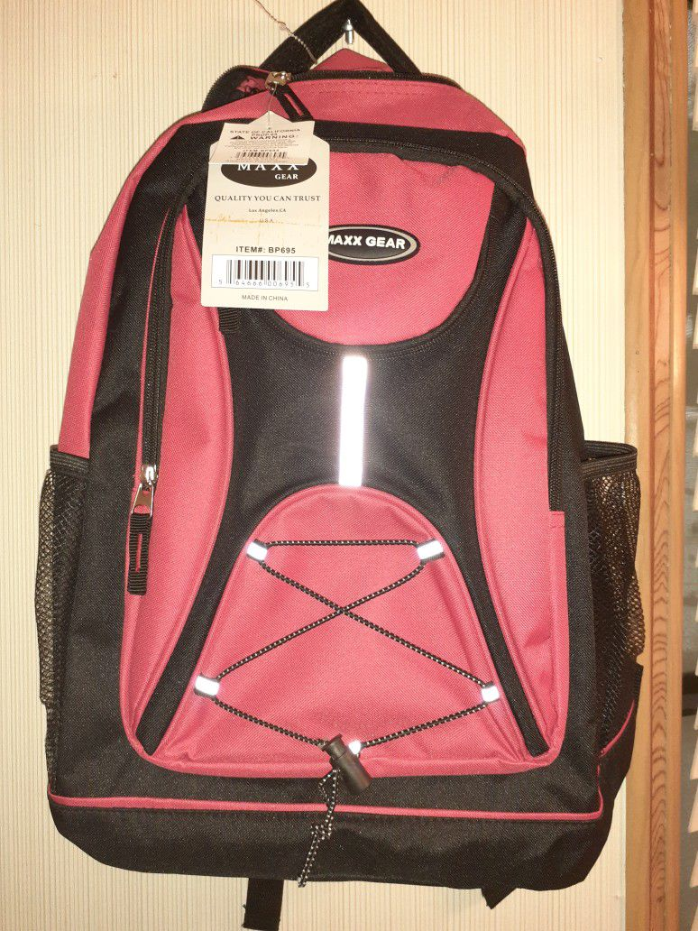 Nice Heavy Duty Strong Back Pack With Extra Padding On The Straps And On The Back Part As Well For More Back Support And Comfort