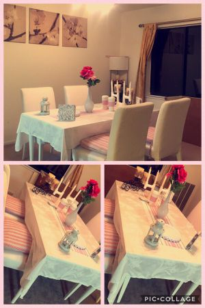White Wood Dining Table for Sale in Leesburg, VA
