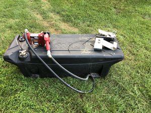 Titan 60 Gallon In-Bed Fuel Tank w/ 12V pump for Sale in Leesburg, VA