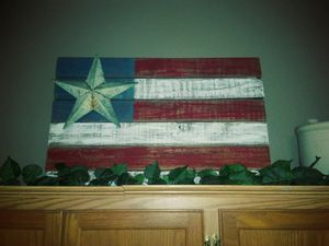 Rustic homemade flag for Sale in Pamplin, VA