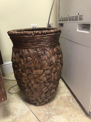 Wicker Basket Floor Vase For Sale In Miami Fl Offerup