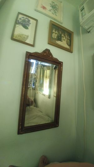 120 year old art nouveau mirror classic art nouveau style for Sale in San Diego, CA