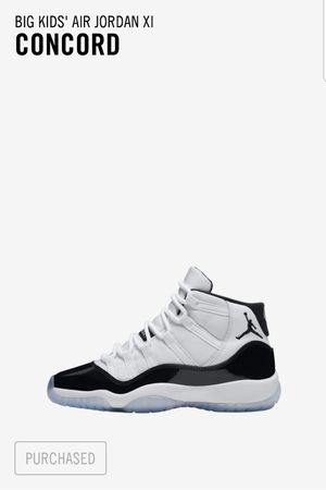 Nike Air Jordan 11 Concord GS Size 7 Brand New Sold Out for Sale in Bethesda, MD