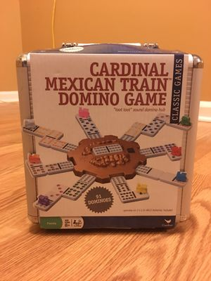 Cardinal Mexican Train Domino Game for Sale in Charles Town, WV