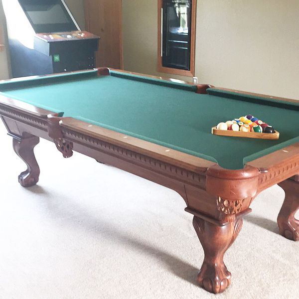 Barely Used Ft Kasson Pool Table Excellent Condition For Sale In - 8ft kasson pool table