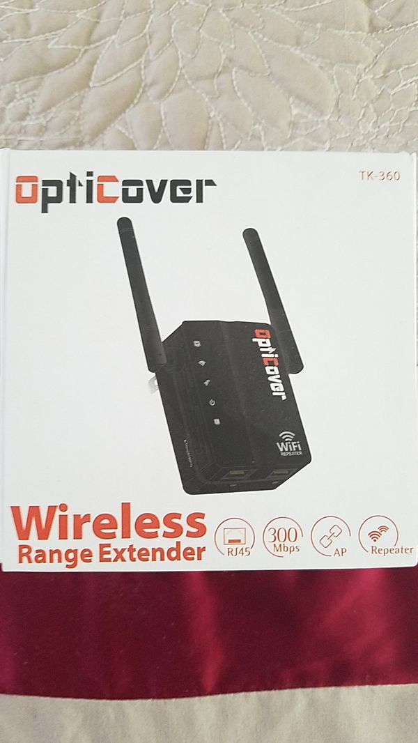 Opticover Wireless Range Extender for Sale in Harrisburg, PA - OfferUp