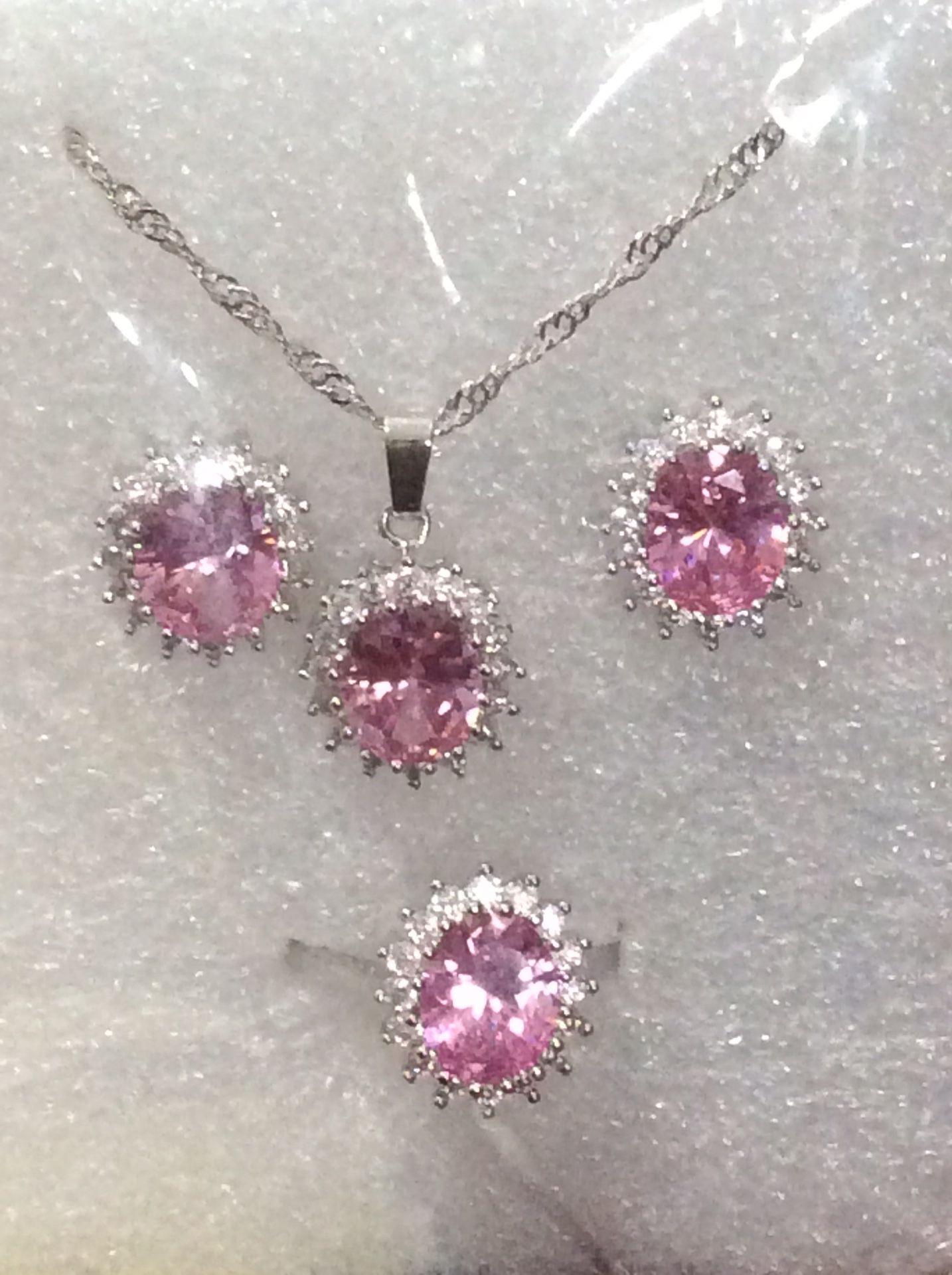 Beautiful jewelry set