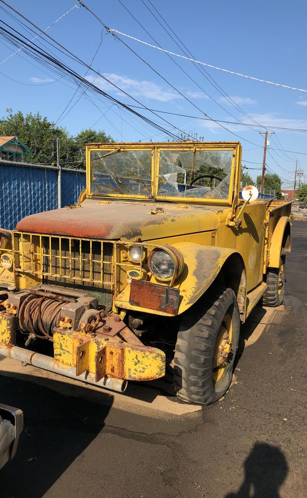 1952 dodge m37 for Sale in Parlier, CA - OfferUp