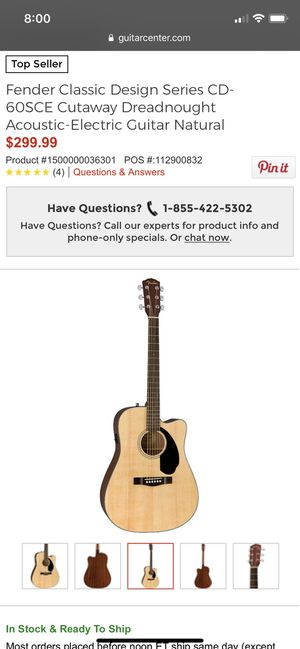 New and Used Acoustic guitar for Sale in Chico, CA - OfferUp