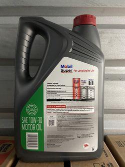 Aceite Mobil Súper 10w-30 Synthetic Blend Galon  Thumbnail