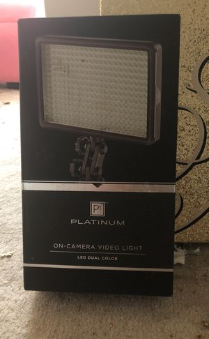 On camera video light for Sale in Falls Church, VA