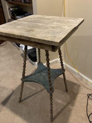 American folk art spool side table 19th century!!! for Sale in Wildwood, MO