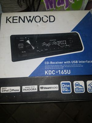 Kenwood CD Deck with Bluetooth for Sale in Columbus, OH