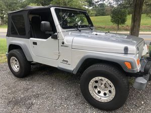 2005 Jeep Wrangler for Sale in Oxon Hill, MD