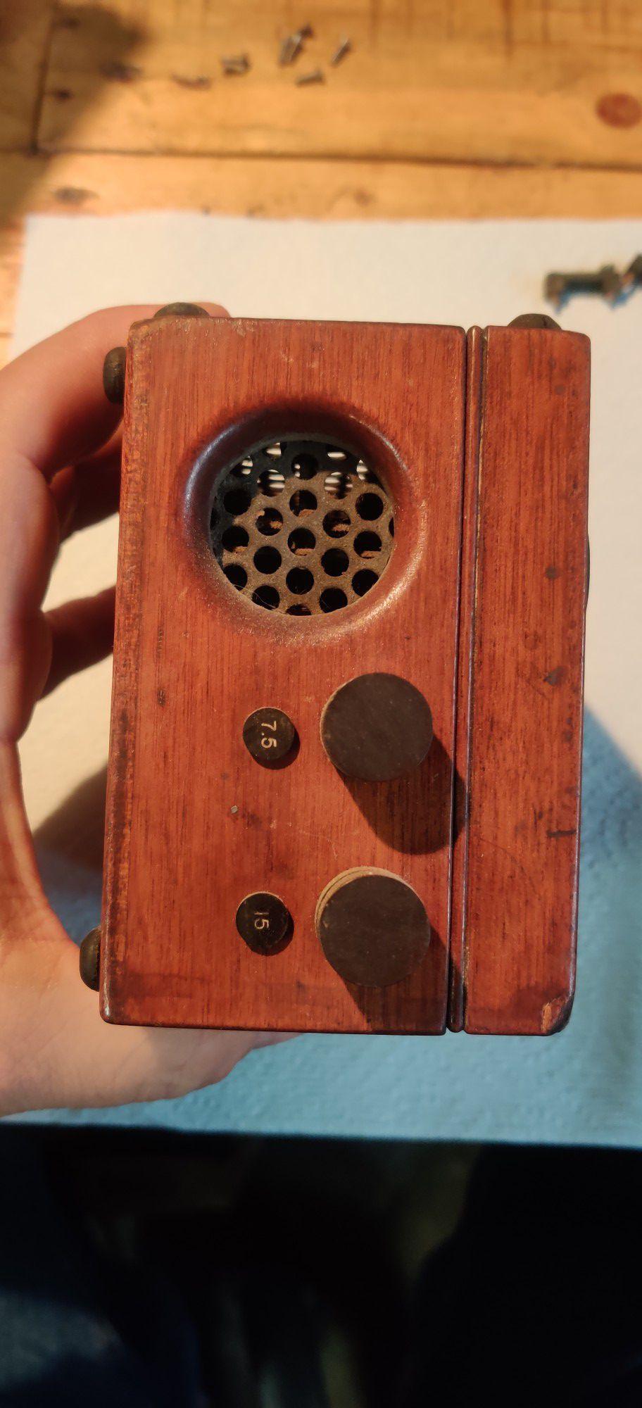 General Electric Voltmeter