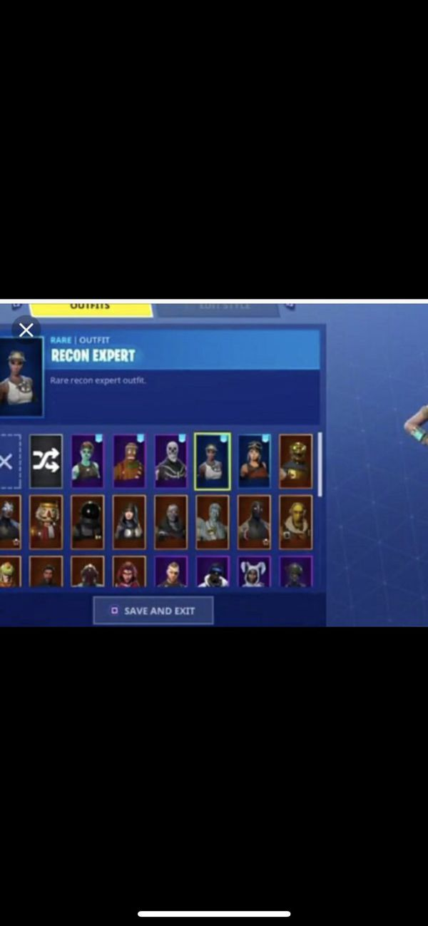 Rare Fortnite Account With Skull Trooper And Recon Expert For Sale In Atherton Ca Offerup