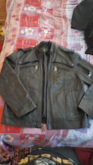 Large, Black, Leather Jacket for Sale in Washington, DC
