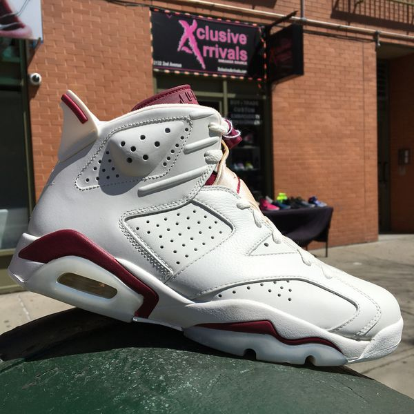 """online retailer 85967 7e2e0 AIR JORDAN 6 RETRO """"MAROON"""" SIZE 8 for Sale in New York, NY - OfferUp"""