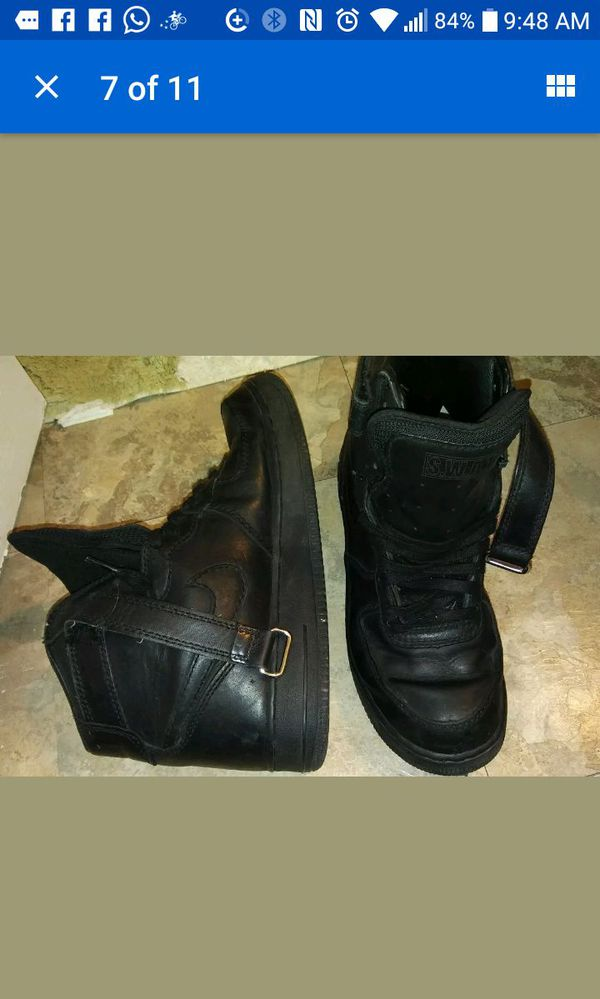 pretty nice 8b620 17ce0 NIKE AIR FORCE 1 HIGH (SWAT) 309655-001 BLK BLK MEN Size 11.5 for Sale in  Houston, TX - OfferUp