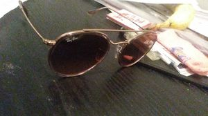 Polorized rayban glasses rose gold color for Sale in Washington, DC