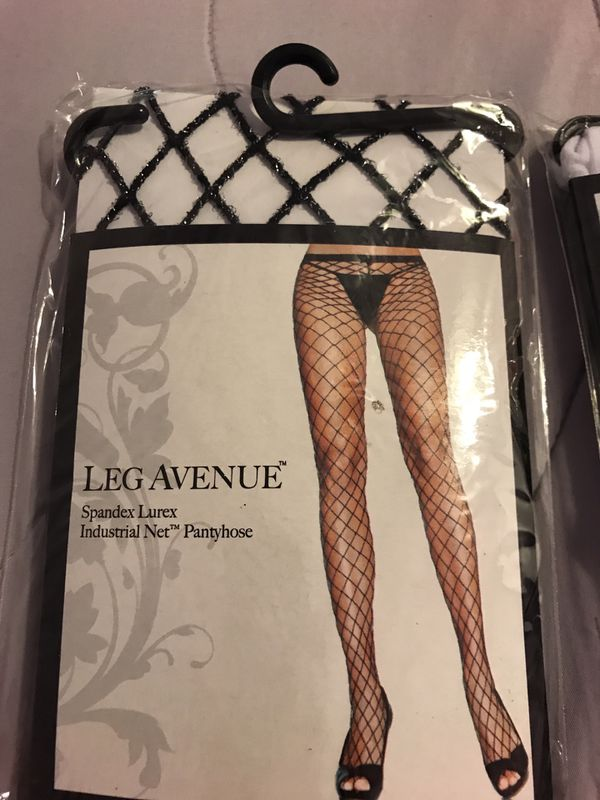 f5128d09a Leg avenue pantyhose thigh highs   tights 3 pairs for Sale in Long Beach