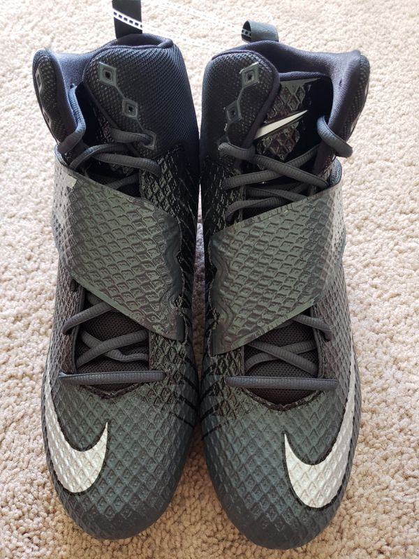 low priced df9ce 2e0a0 NIKE LUNARBEAST PRO TD FOOTBALL CLEATS Size 13 Anthracite 833421-010 Mens .