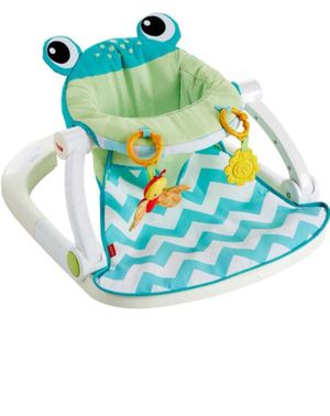 Fisher Price Sit-Me-Up Floor Seat, Citrus Frog for Sale in Chicago, IL