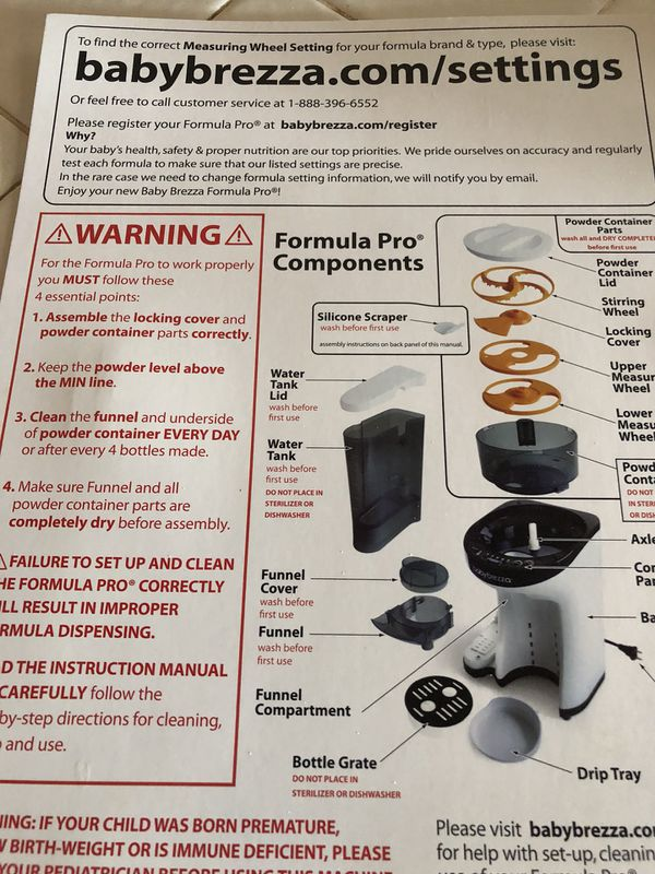 Baby Brezza Formula Pro For Sale In Litchfield Park Az Offerup
