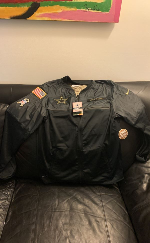 "reputable site 4b53d 4e254 NFL/Nike Cowboys ""Salute To Service"" Windbreaker $50 for Sale in Capitol  Heights, MD - OfferUp"