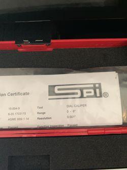 New spi caliper $30 6 inch $30 Thumbnail